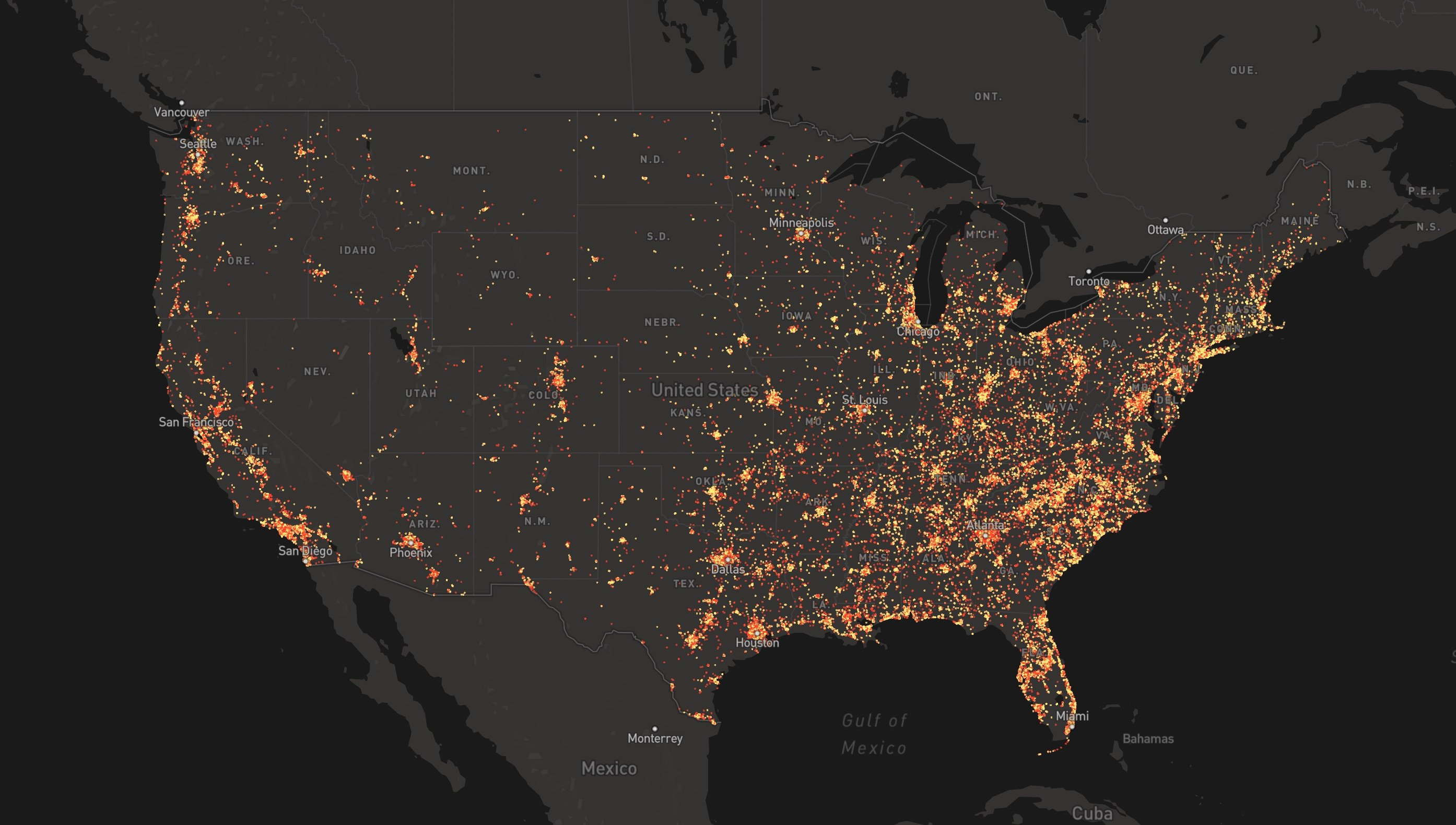 We Mapped 150,000 Shootings. Here's What We Found.